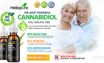HelioPure CBD Oil Reviews (2021) Get Instant Pain Relief & Recovery!