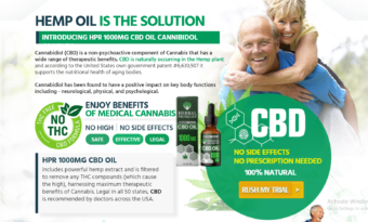 Herbal Pro Relief CBD Oil Reviews:  How Does It Work? Must Read!